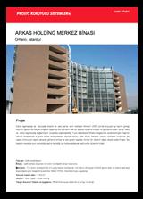 Arkas Holding Merkezi - Case Study